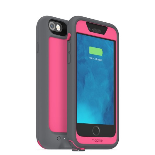 official photos ee2d3 24993 Mophie Juice Pack H2PRO Waterproof Battery Case for iPhone 6/6S Pink
