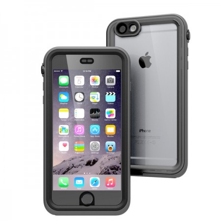 pretty nice ed8c6 b1a4f Catalyst Waterproof Case for iPhone 6/6S Plus - Black & Space Gray