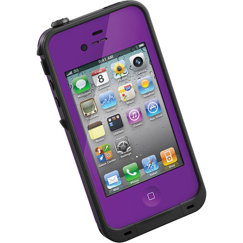 purple lifeproof case iphone 5s lifeproof for iphone 4 4s purple shopmobilebling 17934