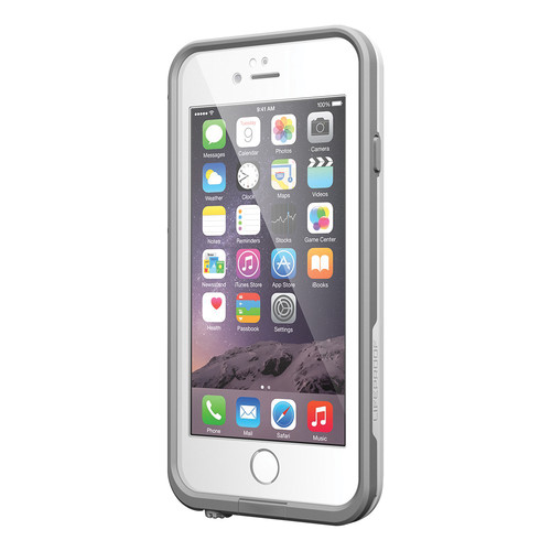 new concept aabf0 6d90c LifeProof iPhone 6/6S Fre Case (White/Gray)