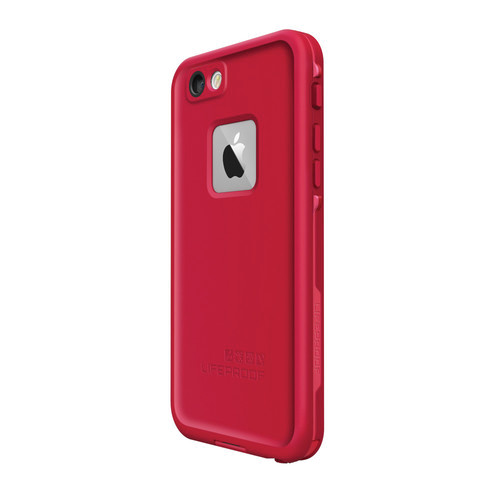 uk availability 4a77c 14ee0 LifeProof iPhone 6/6S Fre Case (Red)