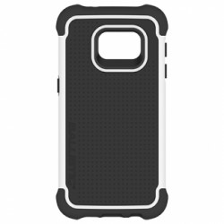 Ballistic Tough Jacket Case for Samsung Galaxy S7 (White/Black)