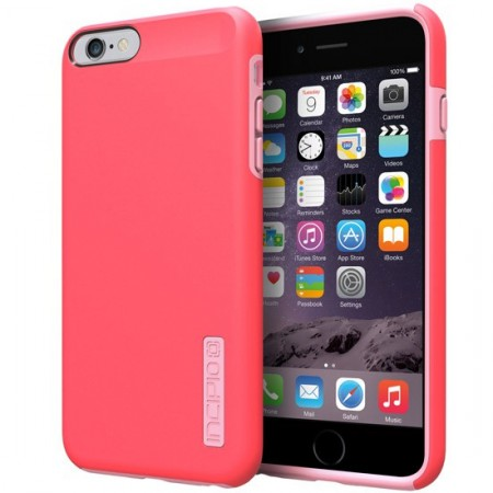 newest ab0cc ed464 Incipio iPhone 6/6S Plus Dualpro Case Coral/Light Pink