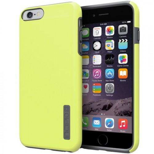 competitive price 468c3 2014d Incipio iPhone 6/6S Plus Dualpro Case Lime/Charcoal