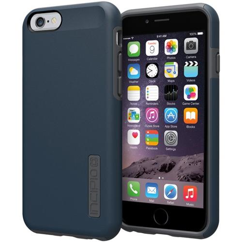 the best attitude d3b1a edc3f Incipio iPhone 6/6S Dualpro Case Navy Blue/Gray