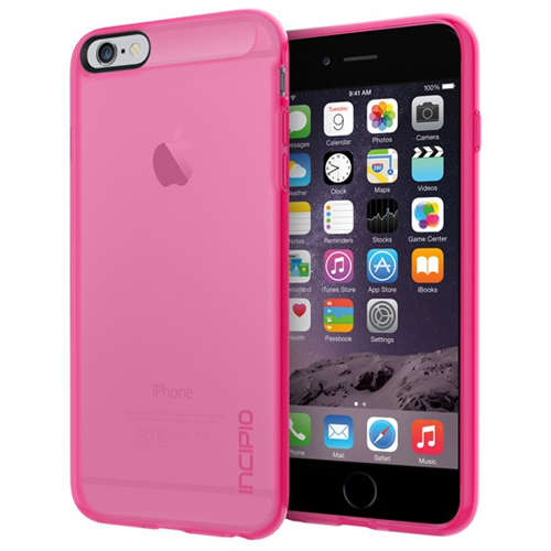 super popular 7985f 0366c Incipio iPhone 6 Plus/6S Plus NGP Case Translucent Neon Pink