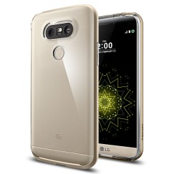 Spigen Neo Hybrid Crystal Case for LG G5 (Champagne Gold)